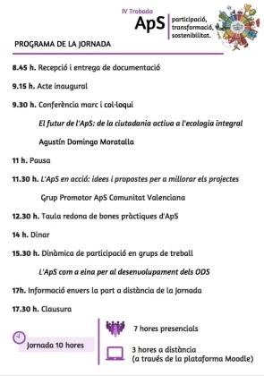 programa IV jornada